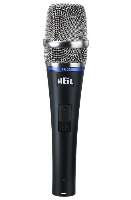 Heil Sound PR 22 SUT Utility w/ switch dynamický mikrofon