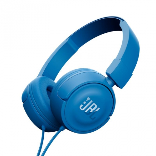 JBL T450 headphones, blue