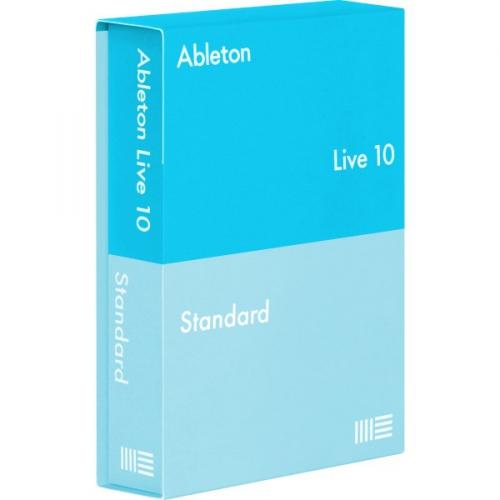 Ableton Live 10 Upgrade z Intro do Standard