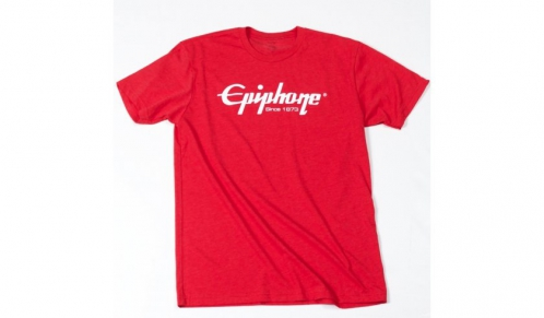 Epiphone Logo T Red Small