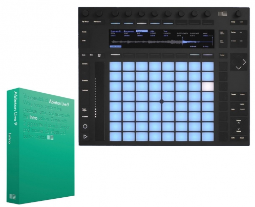 Ableton Push 2 + Live 9 Intro instrument / kontroler MIDI + software