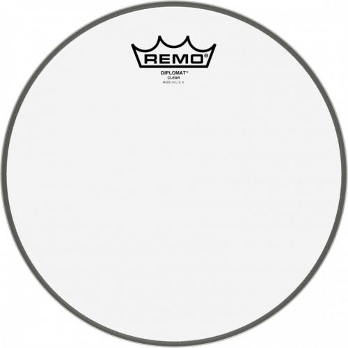 Remo BD-0308-00 Diplomat 8″ průhledný, blána na buben