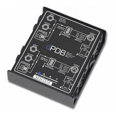 Art DPDB Di-Box pasivní 2 kanály