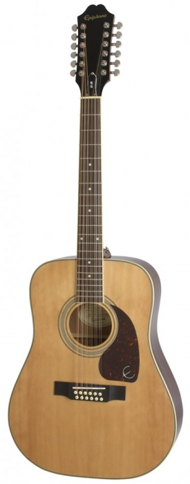 Epiphone DR 212 Natural akustická kytara