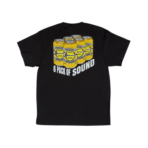 Charvel 6 Pack of Sound T-Shirt, Black, XL
