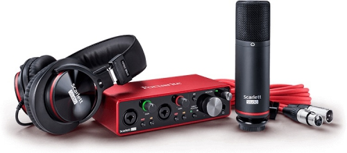 Focusrite Scarlett 2i2 Studio 3nd Gen