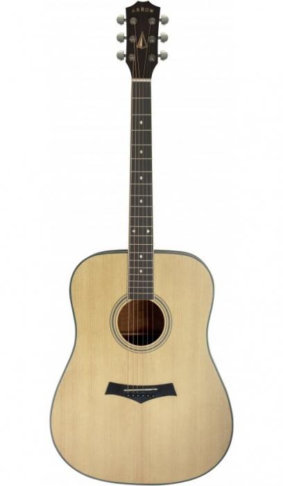 Arrow Silver NT Natural gitara akustyczna
