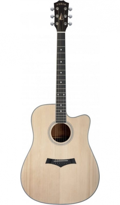 Arrow Silver CE NT Natural electric acoustic guitar