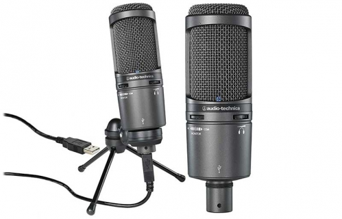Audio Technica AT-2020 USB+ kondenzátorový mikrofon