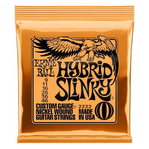 Ernie Ball 2222 NC Hybrid Slinky struny na elektrickou kytaru