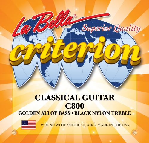 LaBella C800 Criterion struny pro klasickou kytaru