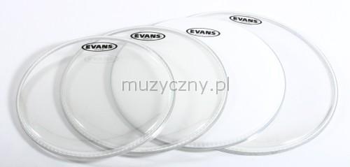 Evans 12″ 13″ 16″ G2 CL/B14G2 CTD set blán pro bubny