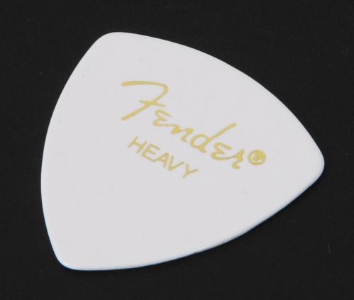 Fender White Pick Heavy 346 kytarové trsátko