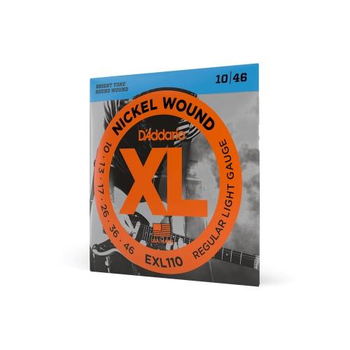 D′Addario EXL 110 struny na elektrickou kytaru