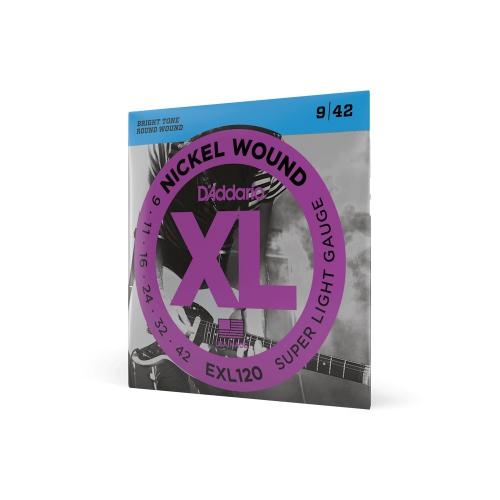 D′Addario EXL 120 struny na elektrickou kytaru