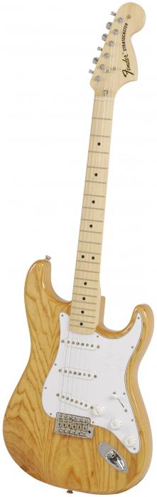 Fender 70′S Stratocaster natural elektrická kytara