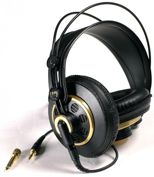AKG K240 Studio (55 Ohm) polootevřená sluchátka