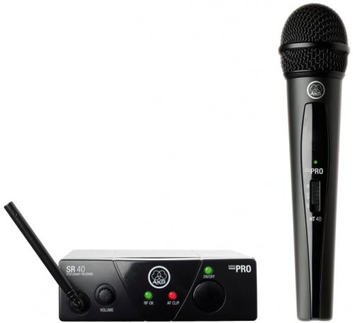 AKG WMS40 mini Vocal Set US45A bezdrátový mikrofon