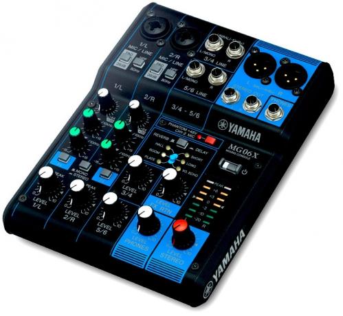 Yamaha MG 06 X mixér