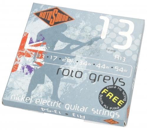 Rotosound R 13 Roto Greys struny na elektrickou kytaru