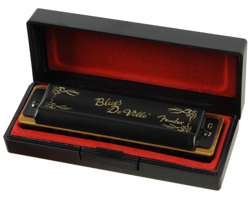 Fender Blues Deville G foukací harmonika
