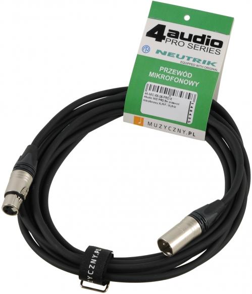 4Audio MIC PRO 5m drát
