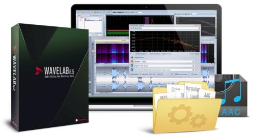 Steinberg Wave Lab 8.5 EDU počítačový program