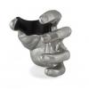 GuitarGrip Male Hand, Silver Metallic, Left