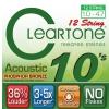 Cleartone struny pro akustickou kytaru, 12 strun 10-47 bronze
