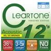 Cleartone struny pro akustickou kytaru, 12-53 bronze