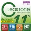Cleartone struny pro akustickou kytaru 11-52 bronze