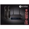 Prodipe M850 DSP DUO UHF dual microphone wireless set