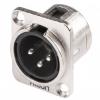 Hicon HI-X3DMM - wtyk XLR do montażu