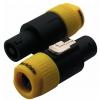 RockCable Lockable Coaxial Plug, 2 pin