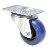 Adam Hall Hardware 372081 - Kółko zwrotne 80 mm z niebieską oponą