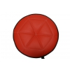 Akmuz T-9 RED W stołek obrotowy uniwersalny czerwony, wysoki