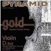 Pyramid 108103 D Gold houslová struna