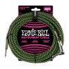 Ernie Ball 6066 guitar cable, 7.62m