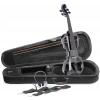 Stagg EVN-X 4/4 BK skrzypce elektryczne komplet, kolor czarny
