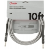Fender Professional Series Instrument Cable 10′, white