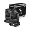 Flash 2x 3R Moving Head 3in1 BEAM+SPOT+WASH