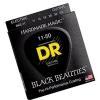 DR BKE-11 Black Beauties Extra Life struny na elektrickou kytaru