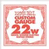 ErnieBall nickel wound single guitar string ′22w′