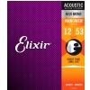 Elixir 11052 NW acoustic guitar strings 12-53