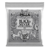 Ernie Ball 2406 Ernesto Palla Nylon Classical Black & Silver classical guitar strings