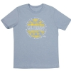 Fender Cali Coastal Yellow Waves Men′s Tee, Blue, XL koszulka
