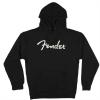 Fender Logo Hoodie, Black, S