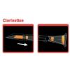 Saxmute (723010) clarinet mute, 2-piece
