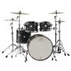 Drum Workshop Design Shell Set  (Black Mate) zestaw perkusyjny