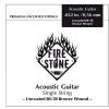 Fire&Stone (666839) struna pojedyncza 80/20 Bronze - .039in./0,99mm